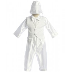 Boys Long Christening Set