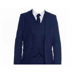 Tailored Navy 5pc Suit