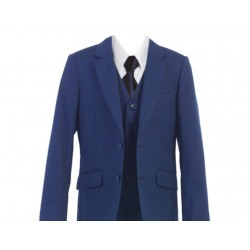 Tailored Indigo Blue 5pc Suit