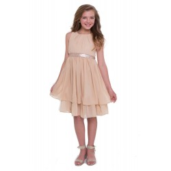 Double Tiered Chiffon Dress...