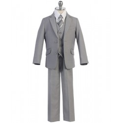 Slim Cut 2 button 5pc suit