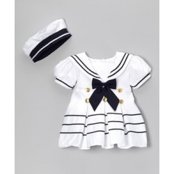 Girls Sailor Set